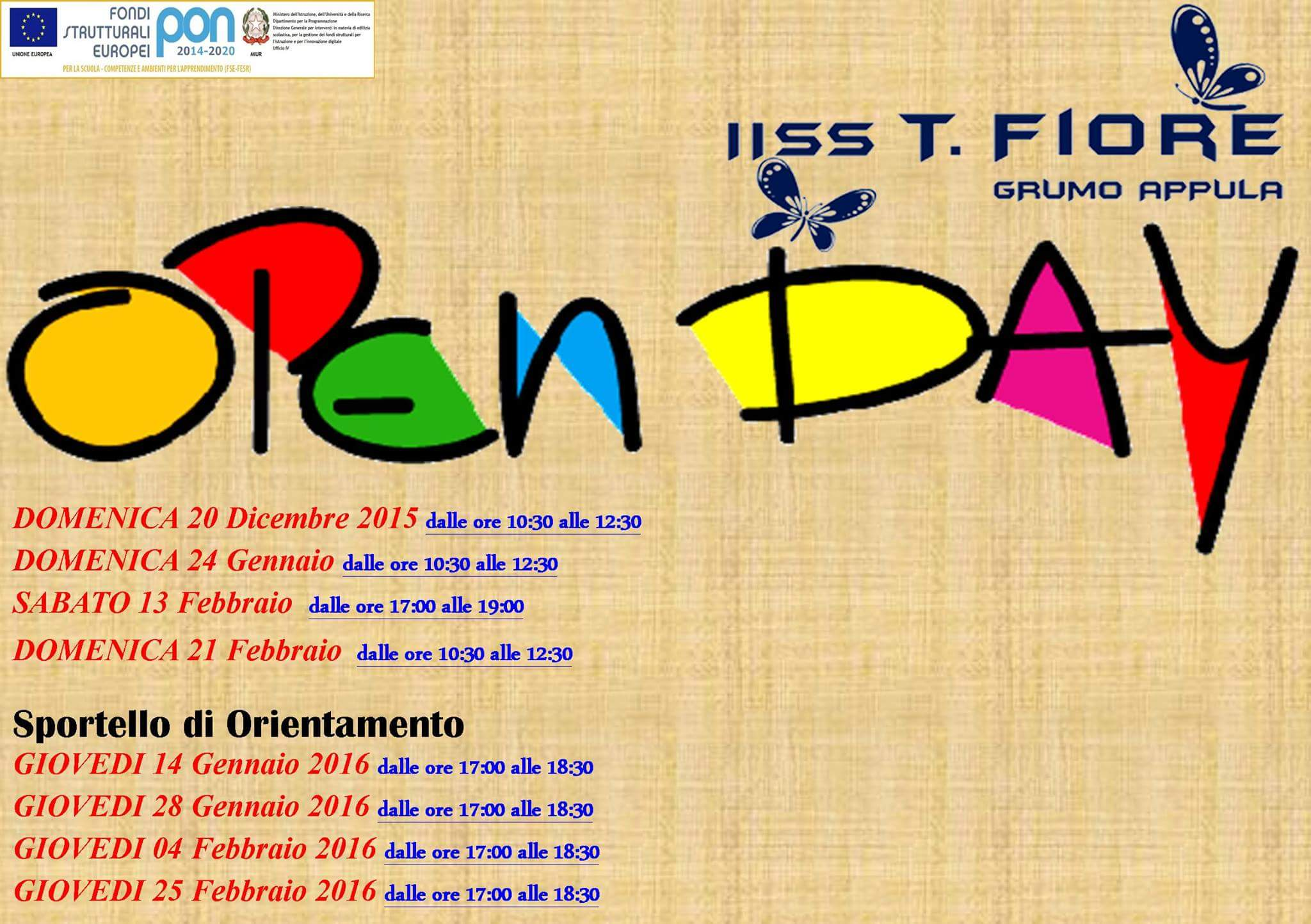 Open Day ITC T.Fiore